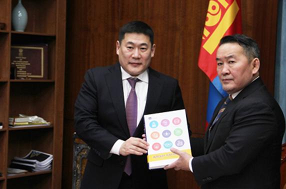 Л.Оюун-Эрдэнэ: Монгол Улс хөгжлийн бодлогоо богцлоод авлаа
