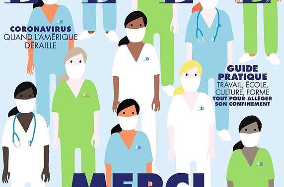 Коронавируст зориулсан шилдэг сэтгүүлүүдийн хавтасны зураг