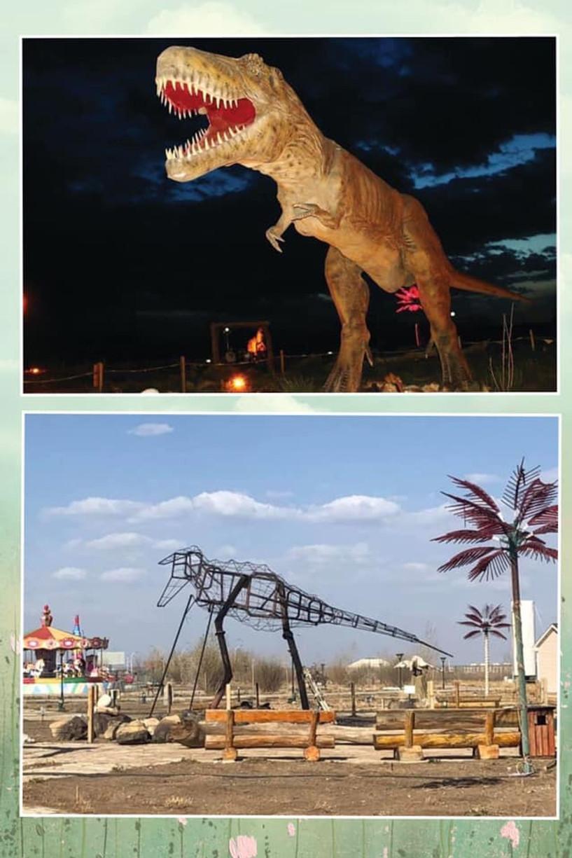 Өмнөговийн соёл амралтын хүрээлэнгийн үлэг гүрвэлийн тоглоом шатжээ