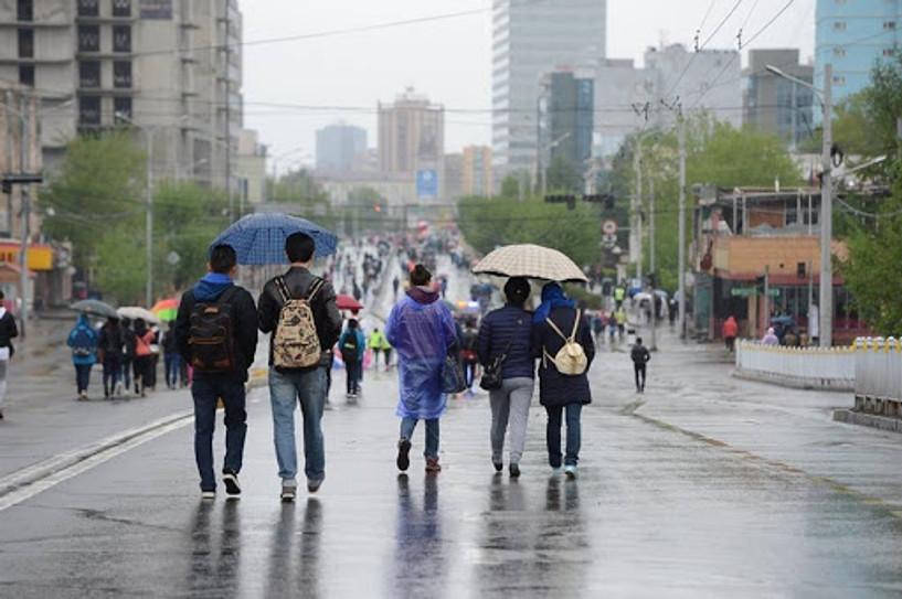Улаанбаатарт лхагва, пүрэв, баасан гарагт бороо орно