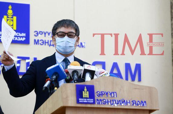 Д.Нямхүү: Нэг иргэний давтан шинжилгээнээс халдвар илэрч, 21 хүн эдгэрлээ