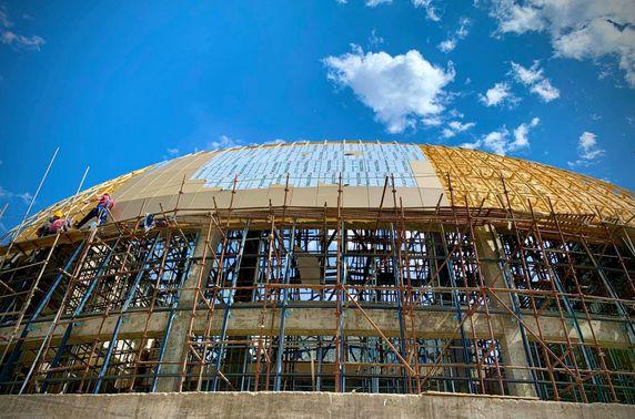 Өмнөговь аймагт 850 хүний суудалтай театр баригдаж байна