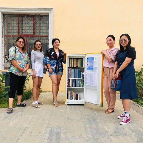 Дорноговь аймгийн 14 суманд гудамжны номын сан аян өрнөж байна