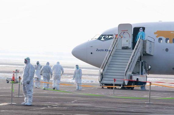 Сиатл-Улаанбаатар чиглэлийн онгоц  газардаж, 260 иргэн эх орондоо ирлээ