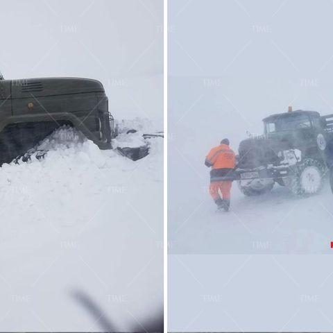 Алтай Таван богдод аялж яваад цасанд боогдсон иргэдийг уулнаас эсэн мэнд буулгажээ