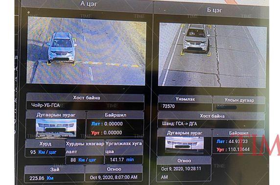 Дундаж хурд тооцоолох камерийг Дархан-Сэлэнгэ, Чойр-Сайншанд чиглэлд суурилуулжээ
