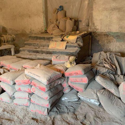 70 гаруй тонн хуурамч цемент хураан авчээ