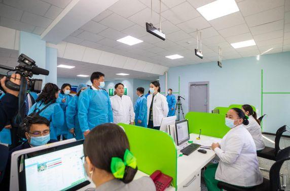Төрийн тусгай албан хаагчдын нэгдсэн эмнэлэг Чингэлтэй дүүргийн иргэдэд үйлчилж эхэлжээ