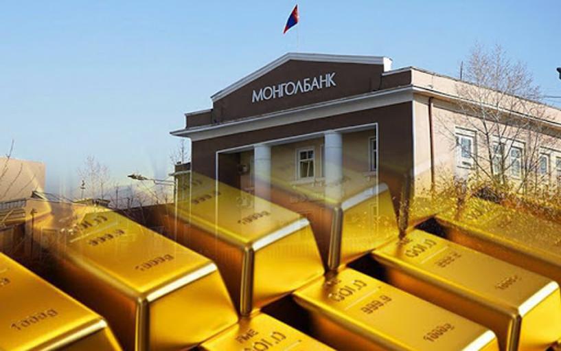 Монголбанк аравдугаар сарын байдлаар 19.2 тонн үнэт металл худалдан авчээ