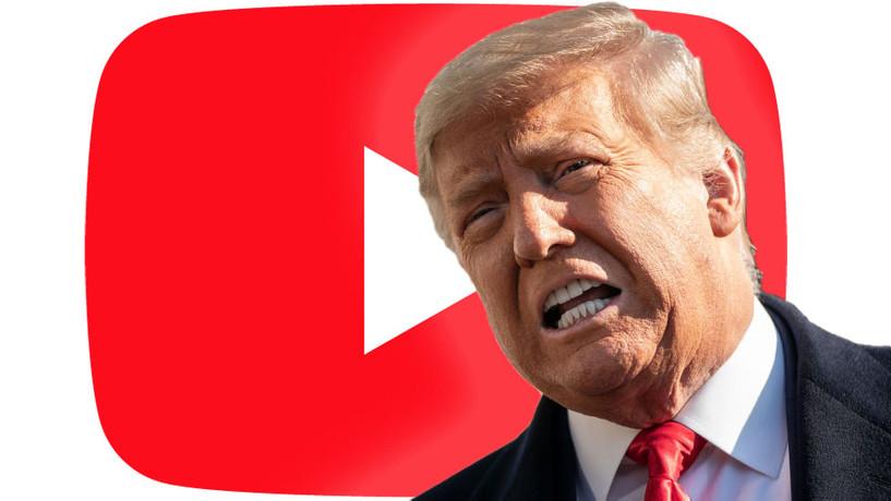 Доналд Трампын Youtube сувгийг хаажээ