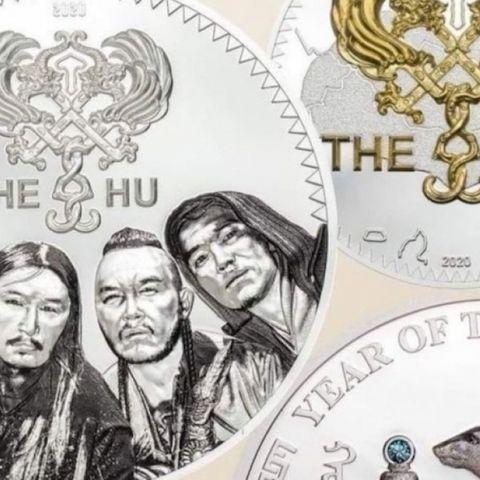 """""""The Hu"""" хамтлагийн зурагтай дурсгалын зоос удахгүй худалдаанд гарна"""