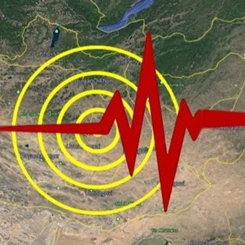 Хөвсгөл аймгийн ханх суманд үүрийн 01:23 цагт  4.1 магнитудын хүчтэй газар хөдлөлт болжээ