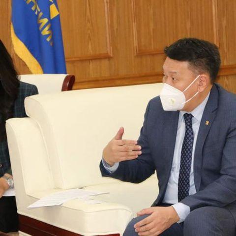 НҮБ-ын Суурин зохицуулагч Тапан Мишраг хүлээн авч уулзлаа