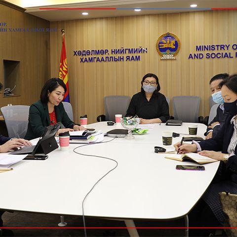 """Залуучуудыг хөдөлмөрт бэлтгэх """"Ажилсаг Монгол"""" төслийг хэлэлцлээ"""