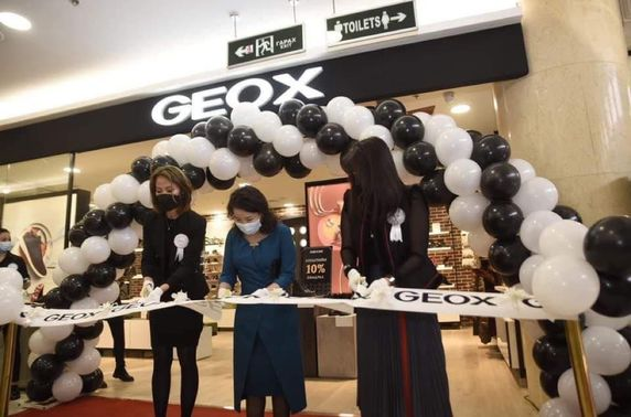 Geoxбрэндийн салбар Улаанбаатар их дэлгүүрт нээгдлээ