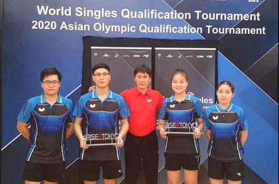 Монголын ширээний теннисчид олимпийн наадамд оролцох эрх авлаа