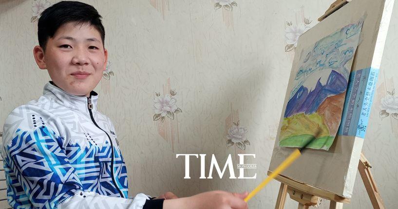 Дэлхийн хүүхдийн уран зургийн уралдаанд монгол хүүгийн бүтээл онцгойрлоо