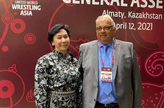 П.Буяндэлгэр Азийн бөхийн холбооны удирдах зөвлөлийн ерөнхий нарийн бичгийн даргаар сонгогдлоо