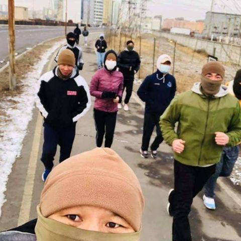 Цэргийн алба хаагчид 100 км гүйлтийн аяныг зохион байгуулжээ