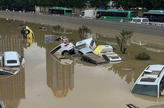 Хэнаньд болсон үерийн улмаас нас барсан хүний тоо 33 боллоо