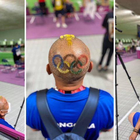 Гавьяат дасгалжуулагч Л.Ундралбат толгойгоо төрийн алтан соёмбо, олимпийн таван цагирагаар чимжээ
