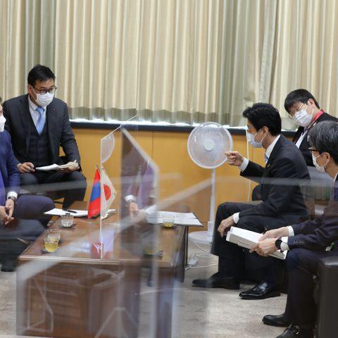 Ерөнхий сайд Л.Оюун-Эрдэнэ цар тахалтай тэмцэх чиглэлд Японы талтай санал солилцов