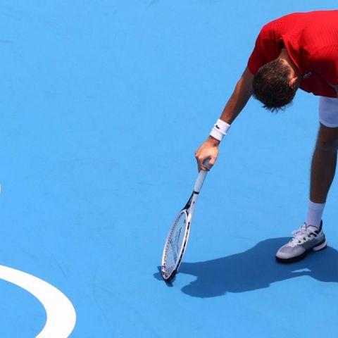 Оросын талбайн теннисний залуу од Данийл Медведев тэмцээнээ дуусгалаа
