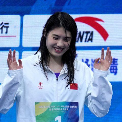 Жан Юфей олимпоос хоёр алт, нэг мөнгөн медаль хүртээд байна