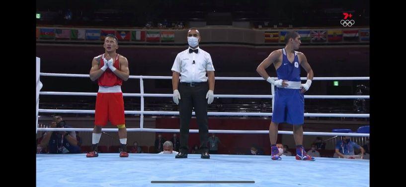 Э.Цэндбаатар ОХУ-ын боксчинд ялагдаж тэмцээнээ дуусгалаа