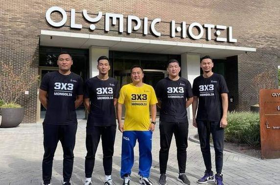 Монголын 3х3 сагсан бөмбөгийн баг Нидерландыг зорьжээ