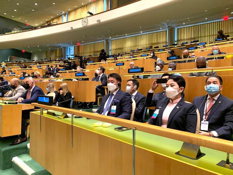 Ерөнхийлөгч У.Хүрэлсүх маргааш НҮБ-ын индерт байр сууриа илэрхийлнэ