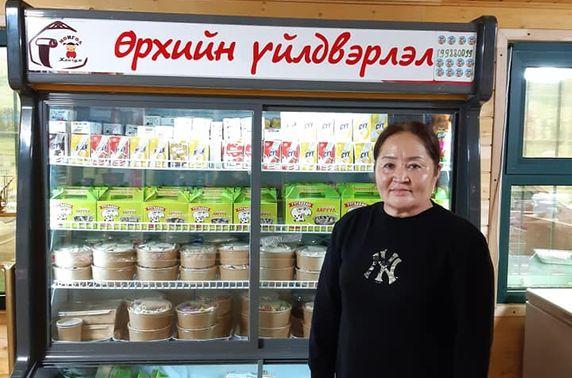 """""""Монгол Жангүм"""" өрхийн үйлдвэрлэлийн бүтээгдэхүүний нэрийн дэлгүүрээ нээлээ"""