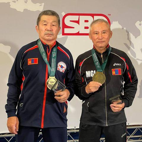 Пауэрлифтингийн хэвтээ шахалтын ДАШТ-нд хоёр тамирчин алтан медаль хүртлээ