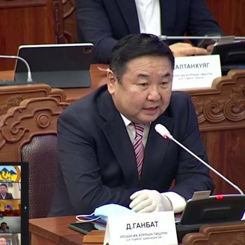 Д.Ганбат: Үзэл бодлоо илэрхийлсний төлөө монгол хүн 22 хоног хоригдож байна